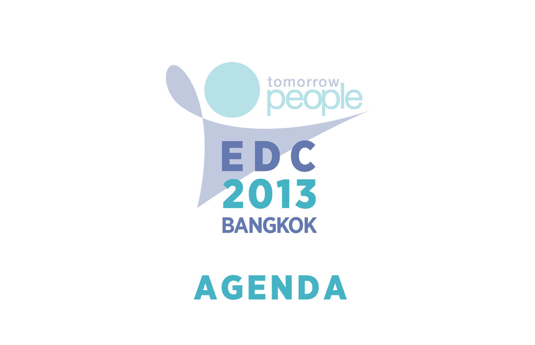 Education and Development Conference 2013 Agenda